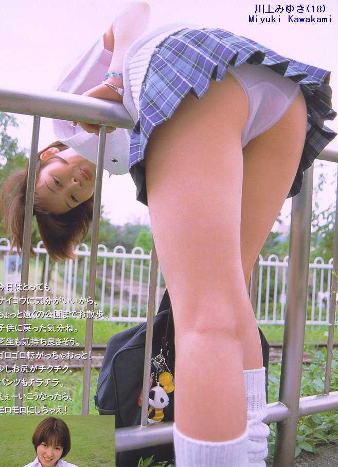 女子高生のパンチラ158